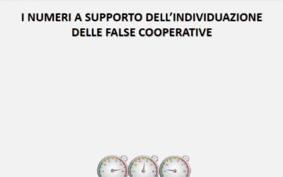 Attività produttive e Legalità. Un algoritmo per individuare le false cooperative
