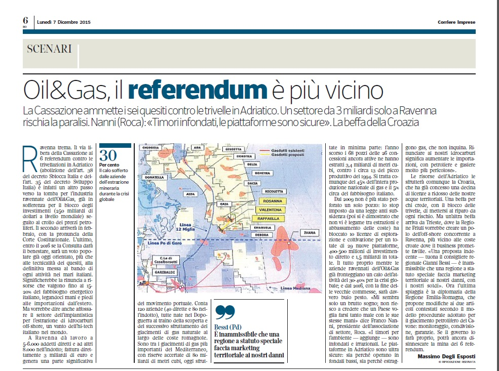 oil&gas corriere