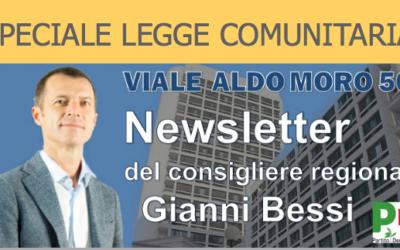 Newsletter – Speciale Legge Comunitaria