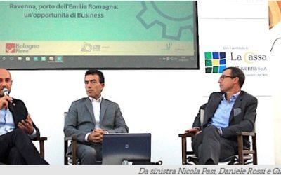 Bassa Romagna In Fiera. All'Agorà di Lugo protagonista l'Hub portuale di Ravenna con Daniele Rossi