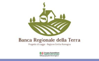 """""""Istituzione della Banca Regionale della Terra"""""""