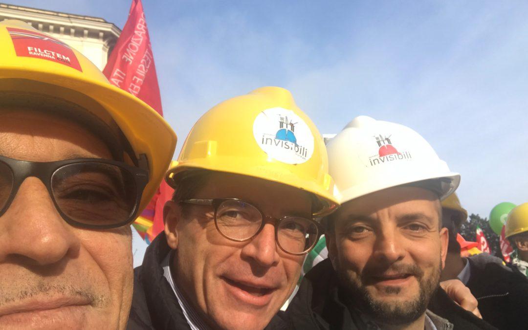 """""""Un successo la manifestazione di Roma dei caschi gialli. Il prossimo passo: il presidente del consiglio Giuseppe Conte deve rispondere al Presidente Stefano Bonaccini."""""""