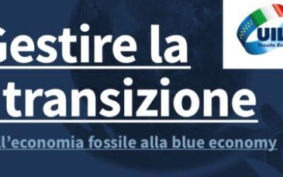 Gestire la transizione – Dall'economia fossile alla blue economy