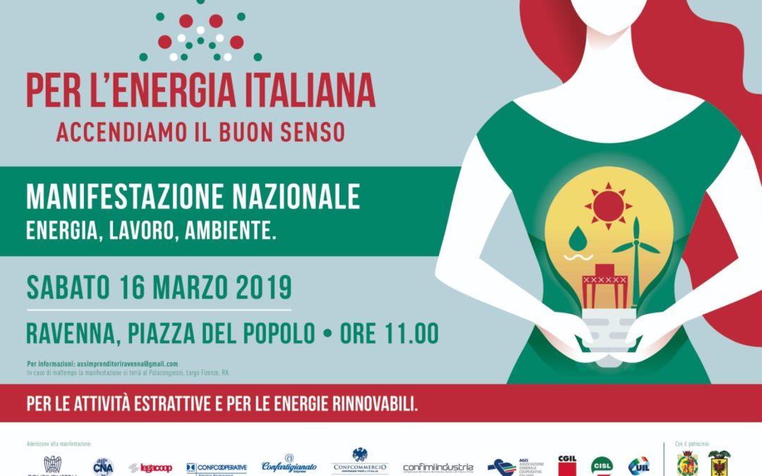 Per l'energia italiana accendiamo il buon senso