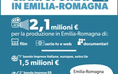 Cinema. La Regione lancia due nuovi bandi per la produzione di opere cinematografiche e audiovisive di imprese nazionali, internazionali e regionali: 2,1 milioni a disposizione